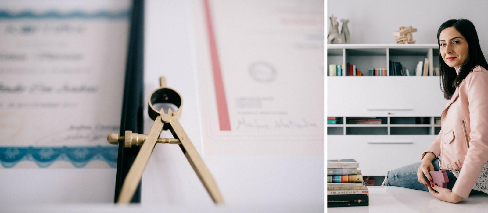 Progettazione e styling di uffici e studi professionali