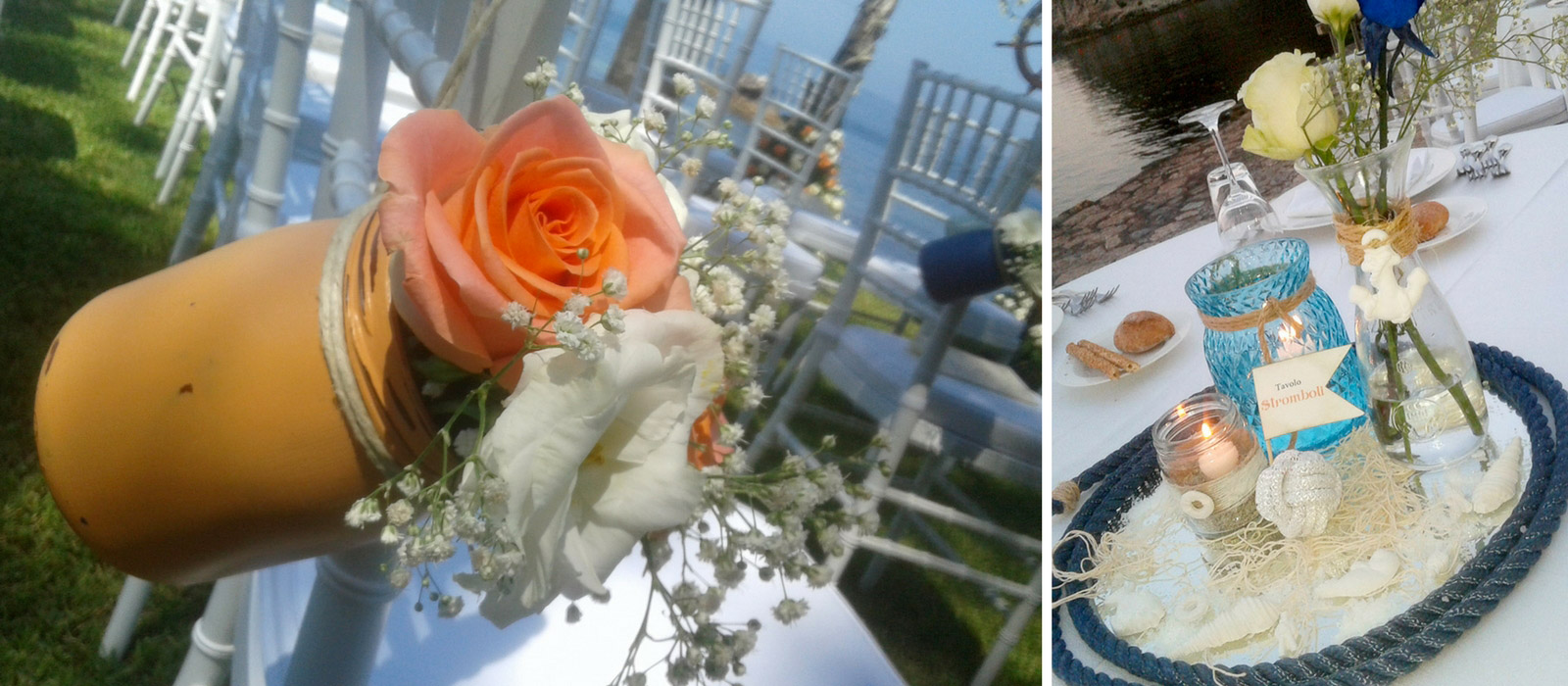 Wedding design: Matrimonio sul mare